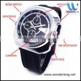 E-Power Video Camera Watch with H.264 Video Coding MOV Format h.264 camera watch