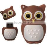 Promotional Flash Drive Owl Cartoon Lovely U Disk Memory 16GB USB Drive