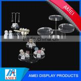 low price Acrylic cosmetic organizer display Sold on Alibaba