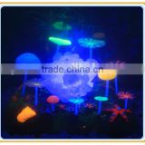 Big Artificial Transparent Coral Resin Coral with LED Lamp for Aquarium