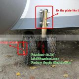 DOUBLE WHEELS LAUNCHING WHEELS FOR INFLATABLE BOAT TINNY,DIGHY,TENDER,CAR-TOPPER,TRANSOM MOUNT