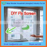 DIY self-adhesive velcro window fly screen