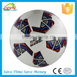 Size 5# brand logo custom print machine stitched PU/PVC soccer ball football
