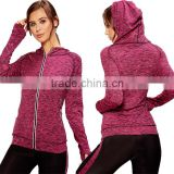 Wholesale Gym Wear Factory Custom Made Your Own Logo Fashion New Style Jackets Full Zip Front Pink Blank Coaches Jacket