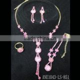 fashio bridal jewelry sets, high quality crystal jewelry sets, wedding jewelry