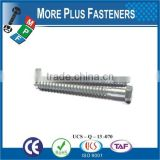 Made in Taiwan wood screw hex lag bolt lag screw