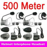 500 Meters Moto Headset Bluetooth Interphone System