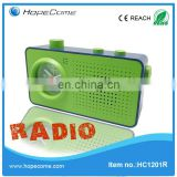 China Mobile Radio Clock Fashion Table Clock with Radio