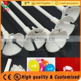 2017 High Quality balloon stick and cup balloon stick and cup plastic sticks for foil balloons