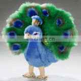 New plush cuddly critters peacock soft toy bird teddy .stuffed peacock ,decorative peacock