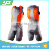 2017 China wholesale specialized tri suit wear custom design sublimation triathlon cycling wear