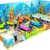 HLB-7024B Sea Life Themed Toddler Plastic Play House Kids Playhouse
