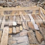 Grey quartz stacked stone