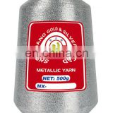 Quality shielding fabric silver metallic yarn