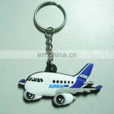 custom great 3d A320 airplane shape keychains