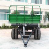 10-15 ton Chinese side tipping trailer