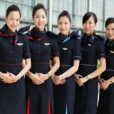Fashion Airline Stewardess Uniform Fabric