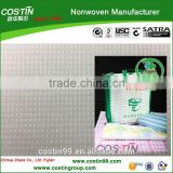 recycled PET stitch bond nonwoven shopping bag making material (SCS recycled certificated)