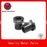 custom black steel bush,black znic bushing, black coating bushing