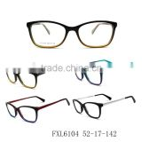 Full Frame Metal Temples Acetate and China wholesale high standard and high quality eyeglasses