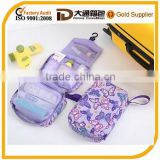 stylish fashionalbe hanging toiletry travel bag