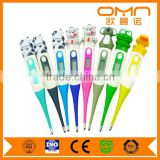 Wholesale hospital small digital thermometer with automatic alarm CE approved clinical oral thermometer