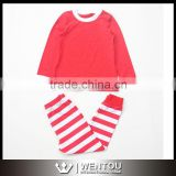 Wholesale Spring Striped Children's Pajamas Sets                                                                         Quality Choice