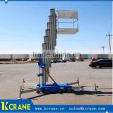 Extension ladder platform, electric telescopic lift