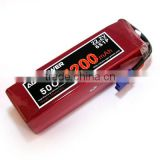 RC lipo battery 22.2V 5200mah 50C for helicopter | AGA Lithium polymer with EC5 | SAB heli 12S big power drone battery pack