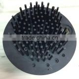 High grade black anodized 1070 aluminum cold forging heatsink (pin fin heatsink)