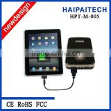 hot selling PAD charger with 12000 mah 18650 battery