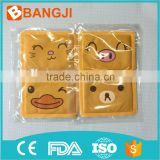 Factory manufacture cute hand warmer,foot warmer pad