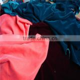 INQUIRY ABOUT good quanlity 9000 135gsm weight polyester mirco velvet fabric for garments