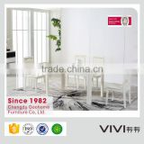 factory direct sale high quality white dining table set in dining room