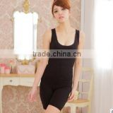 Seamless Waist Cincher Full Body Girdle Shaper Tourmaline FIR Tummy Control Slim Shapewear Suit