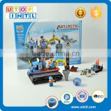 Educational toys for kids DIY magnetic kindergarten DIY antarctic scientific explortion building block--arctic crawler                                                                                                         Supplier's Choice