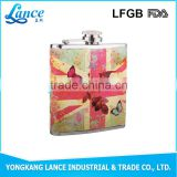 Hot sale alcohol 1-10oz mini stainless steel hip flask