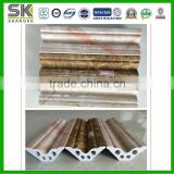 pvc marble line frame for interior and exterior corner decoration