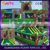 jungle inflatable commercial large trampolines park animal club inflatable trampoline city cheap trampoline inflatable