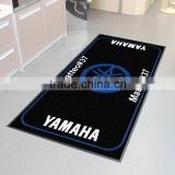 Motorcycle logo garage / bike mat