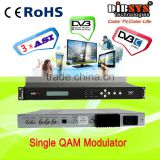 4 to1 Cable digital modulation with Multiplexer,dvb-c solution
