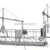 Construction swing stage equipment zlp series powered platform with LTD63 hoist Construction Gondola