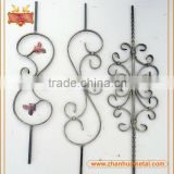 ourdoor balcony/ stair/ fence wrought iron railing