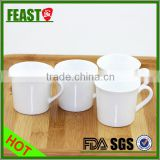 2015 NEW design ceramic coffee cup Hot selling wholesale ceramic mugs bamboo base ceramic coffee cup