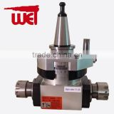 CNC tool holder double ER20 output 90-20x2 milling/drilling Angle Head for sale                                                                         Quality Choice