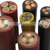 Flexible Rubber Insulated and Sheathed Mining Cable with Fire Resistance Characteristics