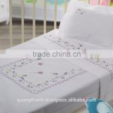 Hand embroidered baby bedding set No.1,embroidery children bedding set