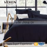 veken products 250tc 40s*40s plain dyed bamboo fiber satin bedding
