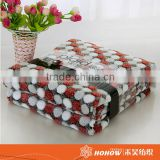 100% polyester printed polar fleece sofa throws