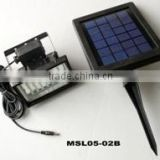 2012 hot! 2W solar led floodlight, solar security floodlight, solar flood lights outdoor